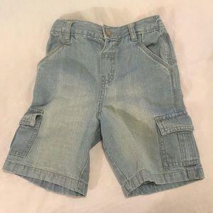 4T denim shorts